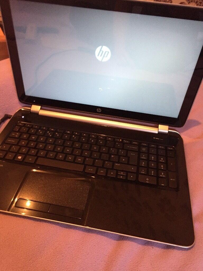 HP Pavillion Touch Screen Laptop Silver