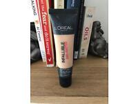 L'Oréal infallible matte foundation