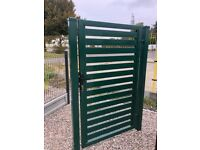 Modern Wrought Iron Gates And Panel Fence