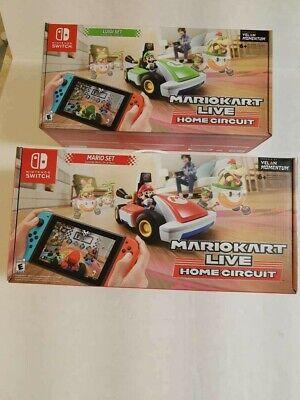 Nintendo Switch MarioKart Live - Mario & Luigi Duel Set -- In-hand Fast Shipping