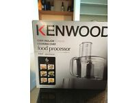 Food Processor Attachment and disks, blades forcKenwood Chef mixer. Still in box