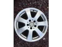 "Mercedes Vito alloy wheel 17"""
