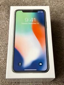 IPhone X 256GB Brand New - Space Grey (Unlocked 3 Network)