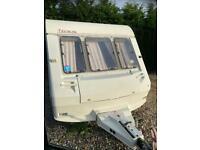 Abi ace caravan 4 berth touring caravan with bunk beds