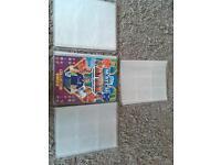 4 match attax football collector folders/ binders