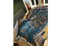 Large antique rug
