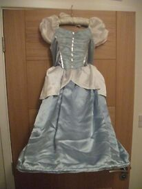 Disney's Cinderella reversable (ballgown & rags) dressing up dress, age 6-7