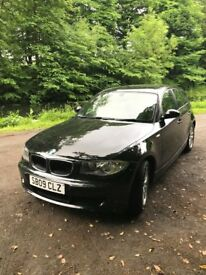Black BMW 1 Series