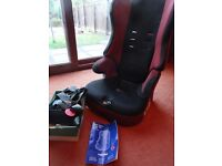 FREE 5 Point High Backed Booster Seat from Aged 9 months to 11 Years