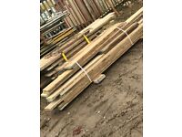 Various thin wooden boards