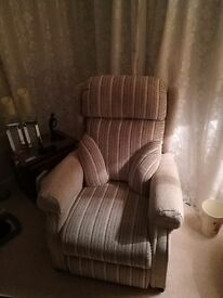 Two immaculate power rise and recline chairs must sell this week