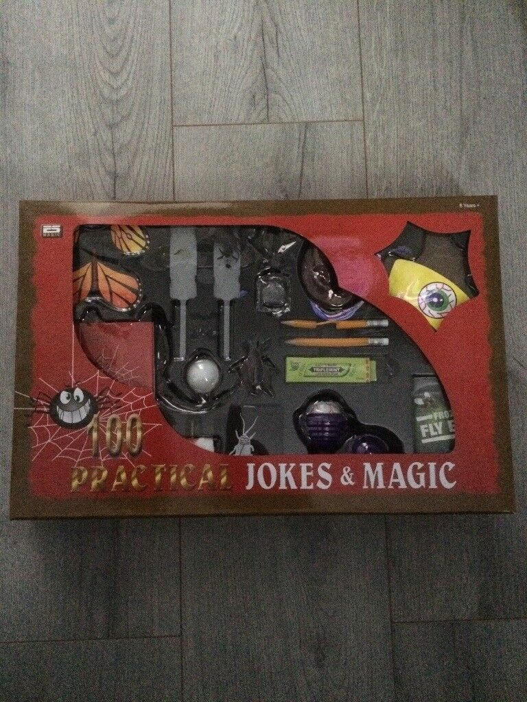 100 practical jokes and magic