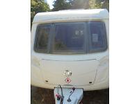 2009 Swift Charisma 220 - 2 Berth Touring Caravan With Rear Kitchen Area