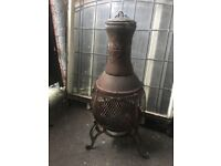 Cast Iron Chimmenea / Patio Heater / Log Burner ring malc