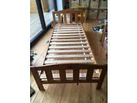 Mothercare slim pine single bed