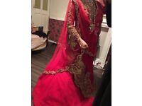 Asian bridal dress