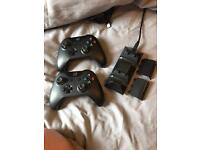 Xbox one controllers and rechargeable battery pack