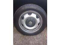 """Four 17"""" wheel rims"""