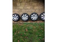 Vw alloy wheels x 4 16""