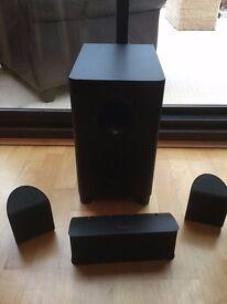 Pioneer S-HS100 surround sound 5.1 home AV speakers