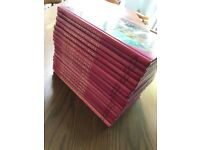 The complete set of the NEW JUNIOR ENCYCLOPEDIA - 18 Books - Great Condition