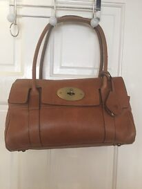 MULBERRY BAYSWATER OAK HAND BAG