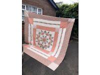 Large Patterned Quilt