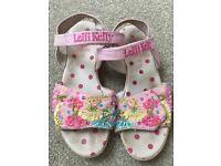 Lelli Kelly size 32 (size 1) sandals