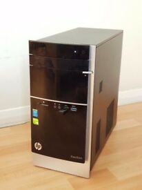 HP Pavilion 500-319na with 250GB SSD upgrade (Super-fast) Desktop PC