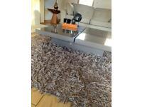 Next Minx large shaggy rug