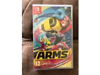 Nintendo Switch Arms Brand New