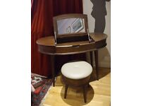 Quality Dressing Table and Stool from the Bergen range by Bentley Designs