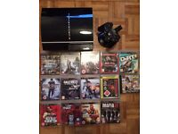 Playstation 3, PS3, 60GB, 1 controller, 14 Games (GTA, COD...)