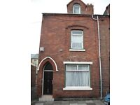 Three floor, end terraced house in the central area in Hartlepool