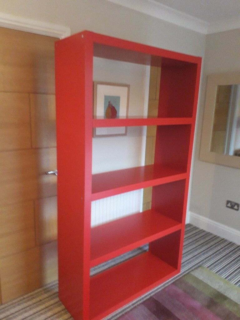 Ikea Red Bookshelf Fabulous Condition