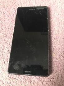 Sony z3 cracked screen unlocked
