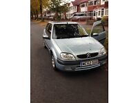 Citroen Saxo vtr light blue