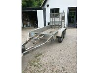 Reconditioned Indespension 2600Kg plant trailer - good condition