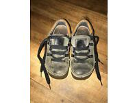 Ladies Art shoes khaki green Leather fit uk size 5.5