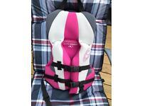 O neill child's life jacket