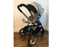 Fantastic bundle: I Candy Peach with Carrycot and cup holder + Buggy Board Mini in good conditions!