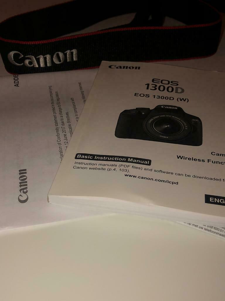 CANON EOS 1300D DSLR CAMERA | in Paisley, Renfrewshire | Gumtree