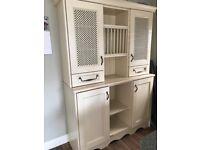 Kitchen dresser/unit. 2 parts for car transport.