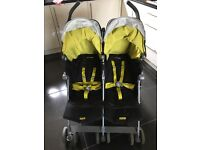 Maclaren twin buggy