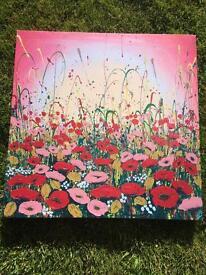 Canvas print 50cm square