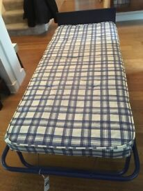 Two folding JayBee beds with sprung mattresses