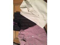 3 men's shirts Ted Baker Thomas Nash Mito. 151/2 Collar