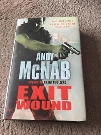 Andy McNab Hardback Book