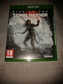 Rise of the Tomb Raider. Like New.