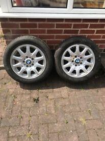 Bmw wheels and Bridgestone tyres 16